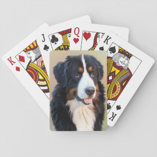 Berner Sennenhund Spielkarten