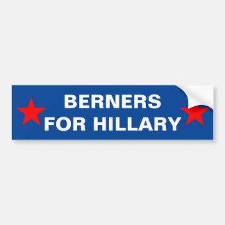 Berners für Hillary-Autoaufkleber Autoaufkleber