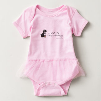 bernese Gebirgshund Baby Strampler