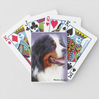 bernese Gebirgshund Bicycle Spielkarten