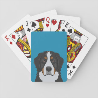 Bernese Gebirgshund Spielkarten