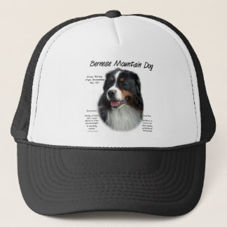 Bernese Gebirgshundegeschichtsentwurf Truckerkappe
