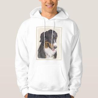 Bernese Gebirgshundemalerei - ursprüngliche Hoodie