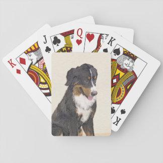 Bernese Gebirgshundemalerei - ursprüngliche Spielkarten