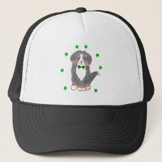 Bernese GebirgshundeSt. Patricks Day Truckerkappe