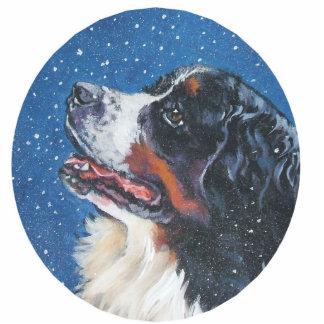 bernese Gebirgshundeverzierung Fotoskulptur Ornament