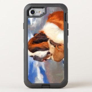 Bernhardiner der Lebensretter OtterBox Defender iPhone 8/7 Hülle