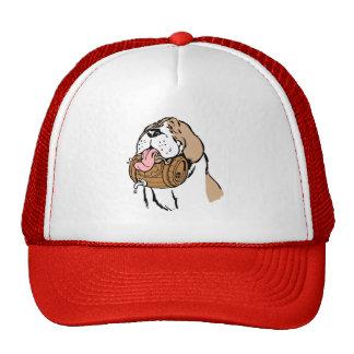 Bernhardiner-Fass-Hund Baseball Cap