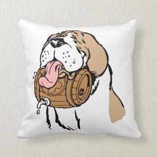 Bernhardiner-Fass-Hund Kissen