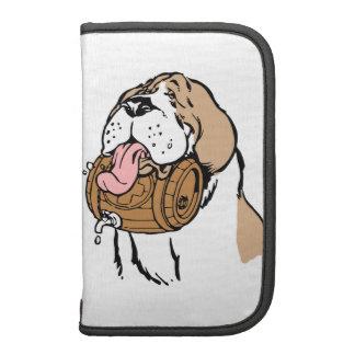 Bernhardiner-Fass-Hund Folio Planer