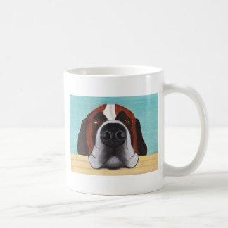Bernhardiner - lustige Kaffee-Tasse Tasse