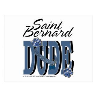 Bernhardiner-TYP Postkarte