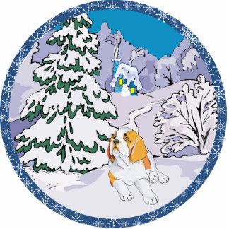 Bernhardiner-Winter Ausschnitt