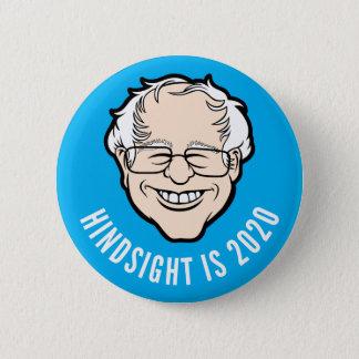 Bernie-Cartoon-Kopf-Nachsicht ist Knopf 2020 Runder Button 5,7 Cm