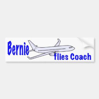 Bernie fliegt Trainer Autoaufkleber