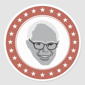 """Bernie """"Gefühl Sandpapierschleifmaschinen des Runder Aufkleber"""