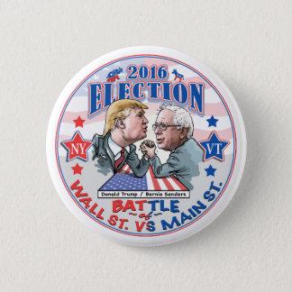 Bernie gegen Trumpf-Wahl 2016 Runder Button 5,7 Cm