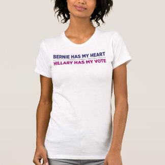 Bernie hat mein Herz, Hillary hat mein T-Shirt