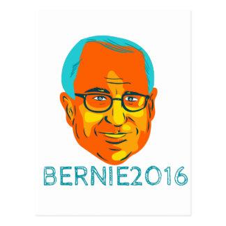 Bernie-Präsident 2016 WPA Postkarte