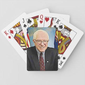 Bernie Sanders Support Digital Art Playing Cards Spielkarten