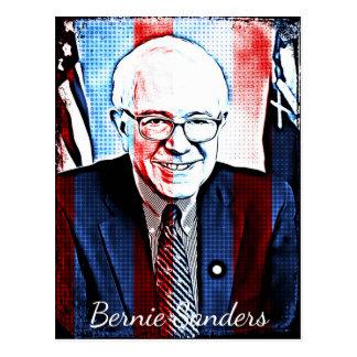Bernie Sanders Support Digital Art Postcard Postkarte