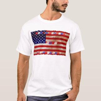 Bernie-Sandpapierschleifmaschine-amerikanische T-Shirt