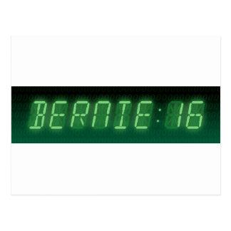 Bernie-Sandpapierschleifmaschine-Digital-Auslesen Postkarte