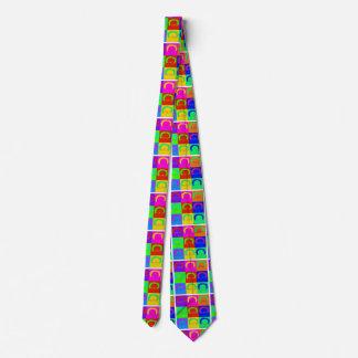Bernie-Sandpapierschleifmaschine-Pop-Kunst Krawatte