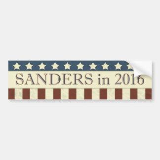 Bernie-Sandpapierschleifmaschine-Präsident 2016 US Autoaufkleber