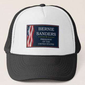 Bernie-Sandpapierschleifmaschine-Präsident V3 Truckerkappe