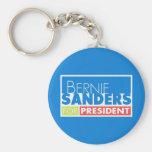 Bernie-Sandpapierschleifmaschine-Präsident V4 Standard Runder Schlüsselanhänger