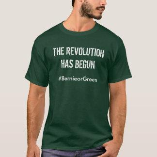 Bernie-Sandpapierschleifmaschine-Revolution T-Shirt