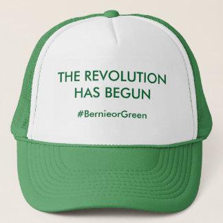 Bernie-Sandpapierschleifmaschine-Revolutions-Hut Truckerkappe
