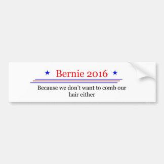 Bernie-Sandpapierschleifmaschine-Spaß-Aufkleber Autoaufkleber