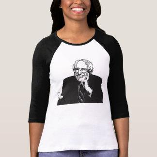 Bernie-Sandpapierschleifmaschine-Unterstützungen T-Shirt