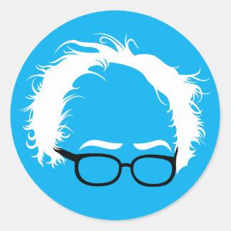 Bernie-Sandpapierschleifmaschine-wilder Runder Aufkleber