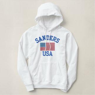 Bernie-Sandpapierschleifmaschinen 2016 Bestickter Hoodie