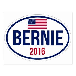 Bernie-Sandpapierschleifmaschinen 2016 Postkarte