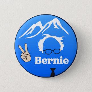 Bernie-Sandpapierschleifmaschinen - Berge Runder Button 5,7 Cm
