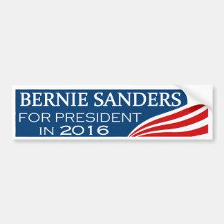 Bernie-Sandpapierschleifmaschinen für Präsidenten Autoaufkleber