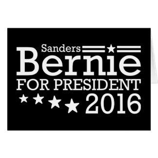 Bernie-Sandpapierschleifmaschinen für Präsidenten Karte