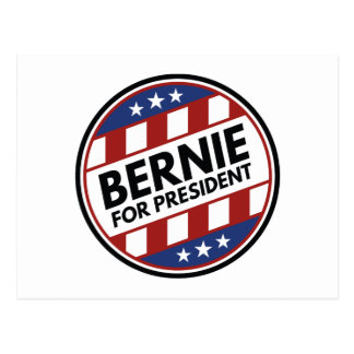 Bernie-Sandpapierschleifmaschinen für Präsidenten Postkarte