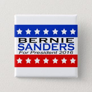 Bernie-Sandpapierschleifmaschinen für Präsidenten Quadratischer Button 5,1 Cm
