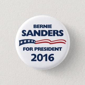 Bernie-Sandpapierschleifmaschinen für Präsidenten Runder Button 3,2 Cm