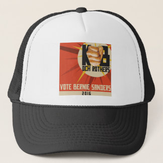 Bernie-Sandpapierschleifmaschinen für Präsidenten Truckerkappe
