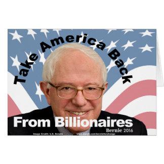 Bernie-Sandpapierschleifmaschinen nehmen Amerika Karte