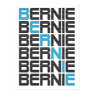 BERNIE-Sandpapierschleifmaschinen textStacks Postkarte