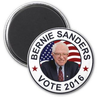 Bernie-Sandpapierschleifmaschinen US-Flagge Runder Magnet 5,7 Cm