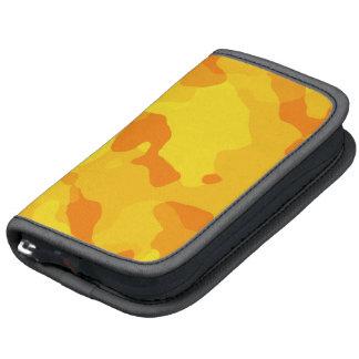 Bernsteinfarbige gelbe Camouflage; Tarnung Folio Planer