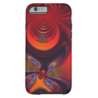 Bernsteinfarbige Göttin - Orangen-und Tough iPhone 6 Hülle